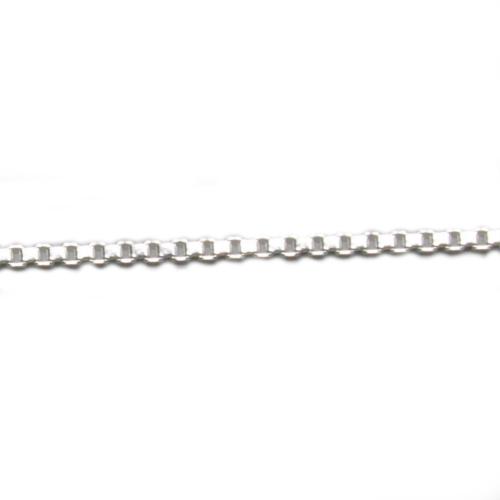 コモキン 925シルバーチェーン 5-2 ベネチアン 1.5mm