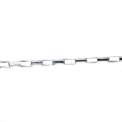 コモキン 925シルバーチェーン 5-5 ロングベネチアン 1.5mm