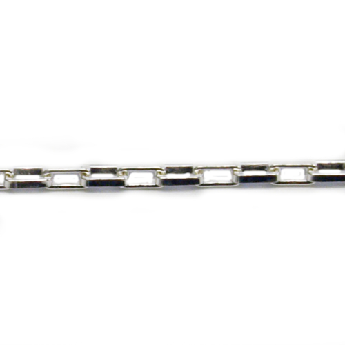 コモキン 925シルバーチェーン 5-6 ロングベネチアン 2.0mm