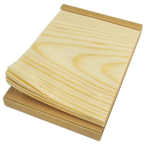経木のメモ帳 大
