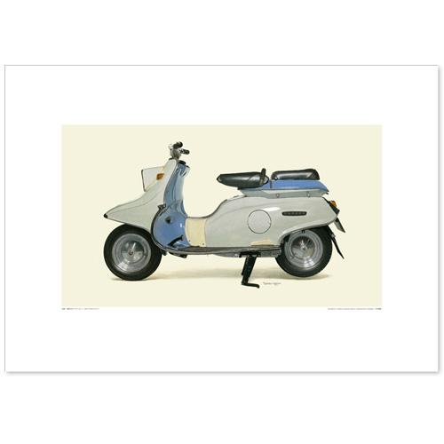 国産モーターサイクル図版(A2愛蔵版)1960 YAMAHA SCOOTER SC-1