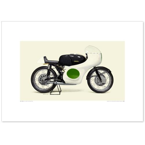 国産モーターサイクル図版(A2愛蔵版)1961 YAMAHA RD48