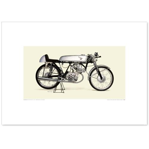 国産モーターサイクル図版(A2愛蔵版)1962 Honda CR110 Cub Racing