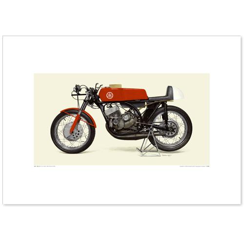国産モーターサイクル図版(A2愛蔵版)1963 YAMAHA RD56