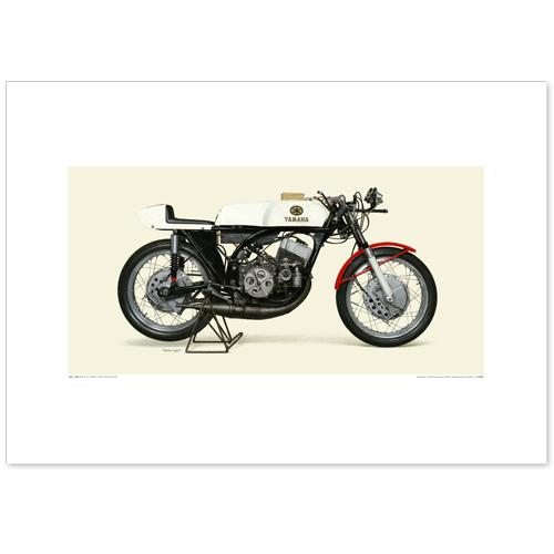 国産モーターサイクル図版(A2愛蔵版)1964-65 YAMAHA RD56