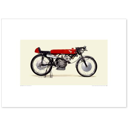 国産モーターサイクル図版(A2愛蔵版)1965 Honda RC115