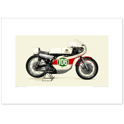 国産モーターサイクル図版(A2愛蔵版)1968 YAMAHA RD05A