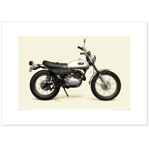 国産モーターサイクル図版(A2愛蔵版)1968 YAMAHA DT-1