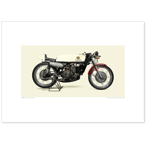 国産モーターサイクル図版(A2愛蔵版)1968 YAMAHA RA31A