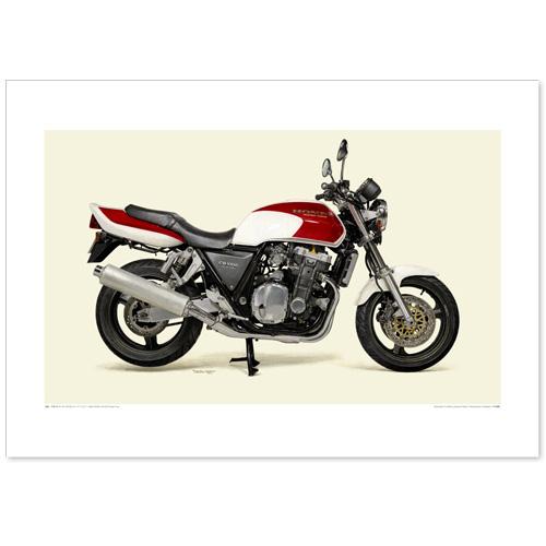 国産モーターサイクル図版(A2愛蔵版)1992 Honda CB1000 Super Four