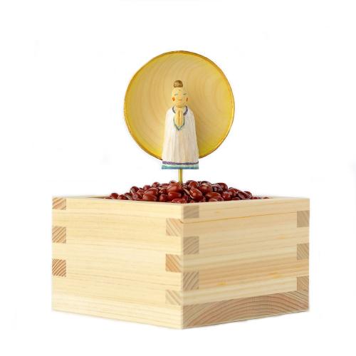 仏像ワールド みまもりさま 小豆 古川葉子作