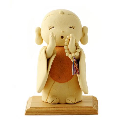 仏像ワールド お地蔵さん 呼掛け 荒木忍陶芸作品