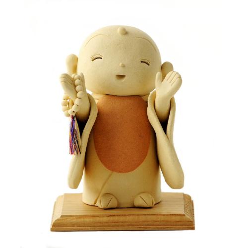 仏像ワールド お地蔵さん 開腕 荒木忍陶芸作品