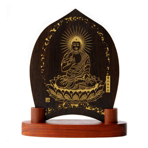 仏像ワールド 釈迦如来 みほとけ護符
