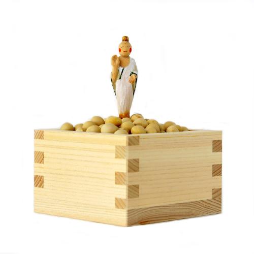 仏像ワールド みまもりさま つるの子大豆 古川葉子作