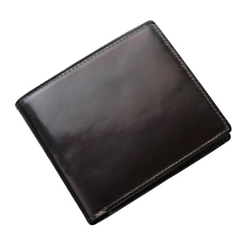 パーリィー クラシック 二つ折り財布 プレミアム ラズベリーレッド