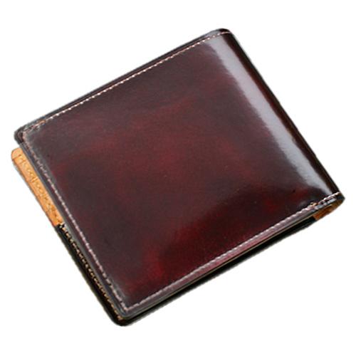 パーリィー クラシック 二つ折り財布(小銭入れ付) ラズベリーレッド