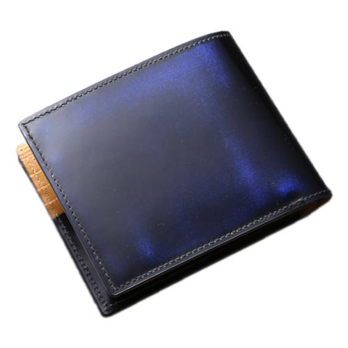 パーリィー クラシック 二つ折り財布(小銭入れ付) ロイヤルブルー