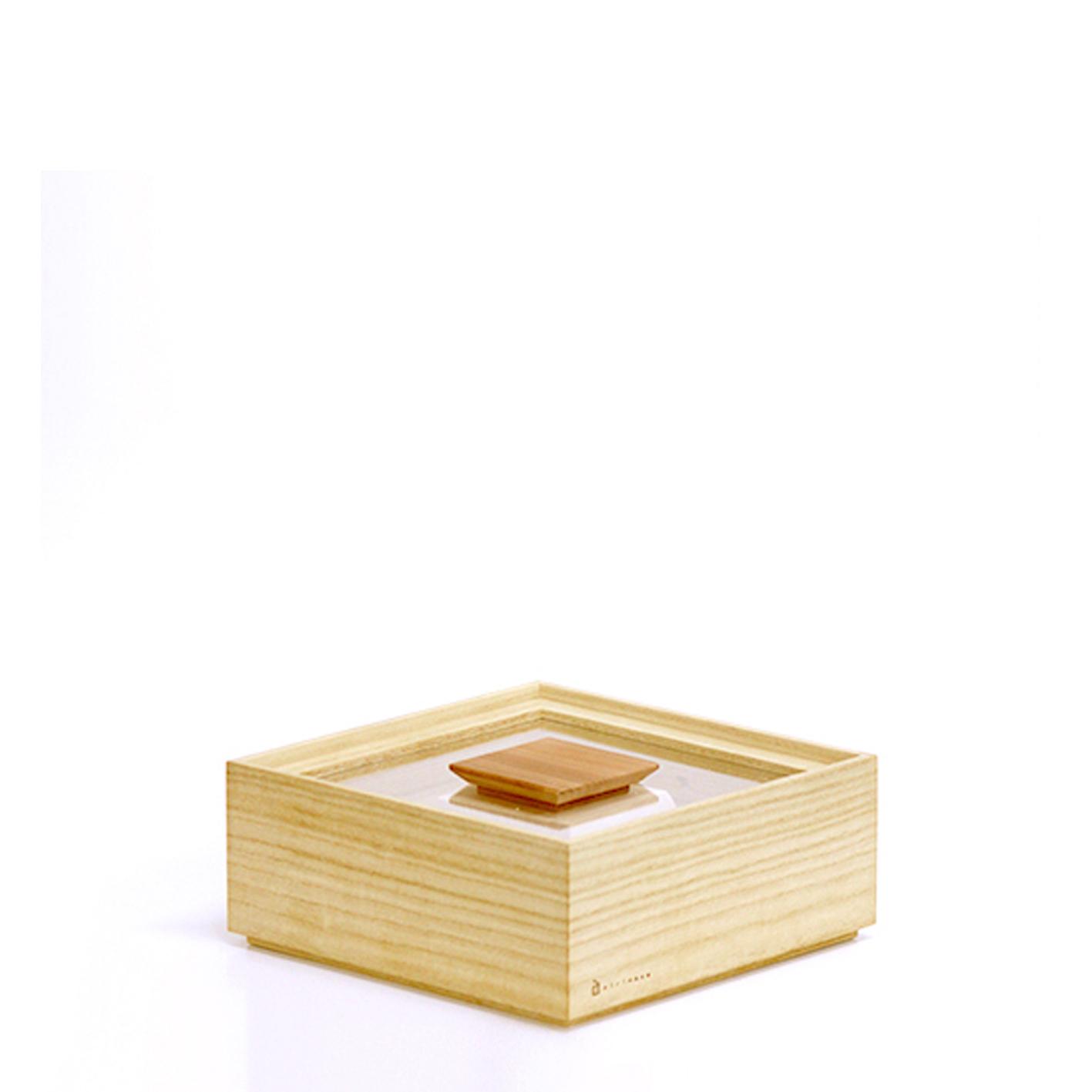 増田桐箱店 桐製米びつ 1kg