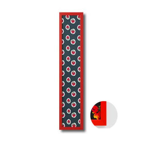 岐阜の木工屋 手ぬぐい額ハーフサイズカラータイプ 赤 190×917mm