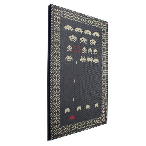 添島勲商店 SPACE INVADERS Art board/スペースインベーダーアートボード ブラック