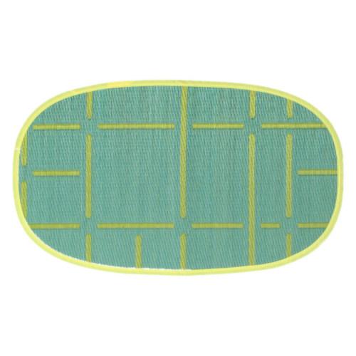 添島勲商店 OTO IGUSA(オトイグサ) MACHI-MACHI(マチマチ) Green DOOR MAT 玄関マット S