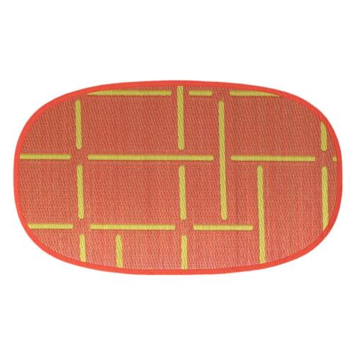 添島勲商店 OTO IGUSA(オトイグサ) MACHI-MACHI(マチマチ) Red DOOR MAT 玄関マット S