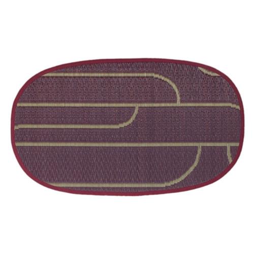 添島勲商店 OTO IGUSA(オトイグサ) NYOKI-NYOKI(ニョキニョキ)  Purple DOOR MAT 玄関マット S