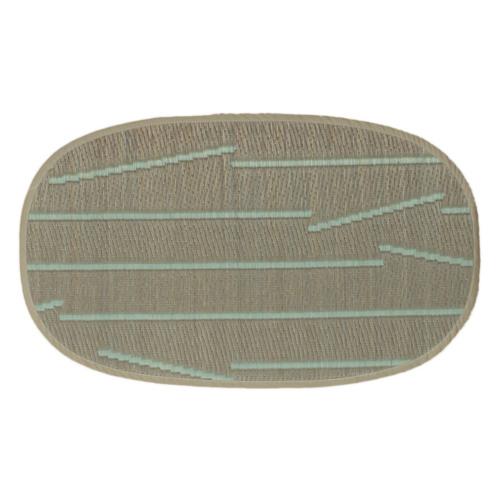 添島勲商店 OTO IGUSA(オトイグサ) POKI-POKI(ポキポキ) Brown DOOR MAT 玄関マット S