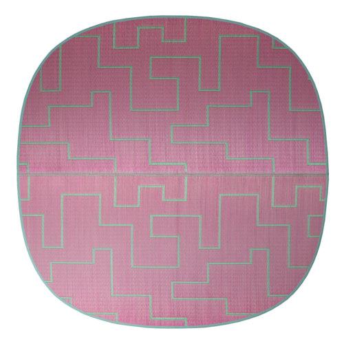 添島勲商店 OTO IGUSA(オトイグサ) KAKU-KAKU(カクカク) Pink RUG MAT ラグマット L