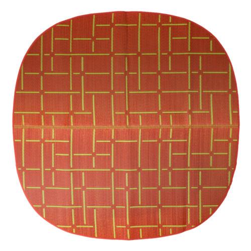 添島勲商店 OTO IGUSA(オトイグサ) MACHI-MACHI(マチマチ) Red RUG MAT ラグマット L