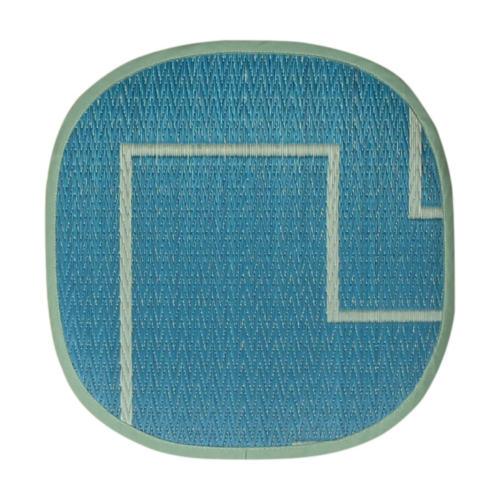 添島勲商店 OTO IGUSA(オトイグサ) KAKU-KAKU(カクカク) Blue SEAT CUSHION 座布団 L