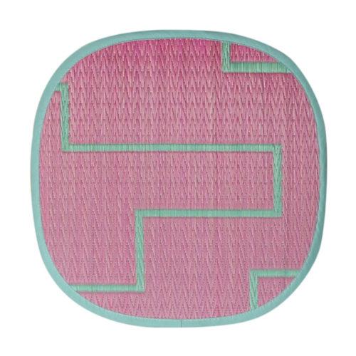添島勲商店 OTO IGUSA(オトイグサ) KAKU-KAKU(カクカク) Pink SEAT CUSHION 座布団 L