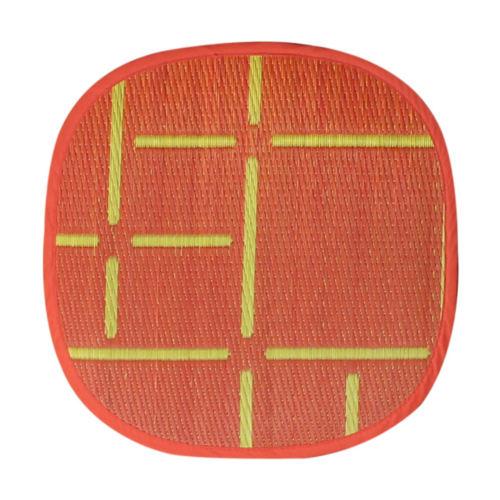 添島勲商店 OTO IGUSA(オトイグサ) MACHI-MACHI(マチマチ) Red SEAT CUSHION 座布団 L
