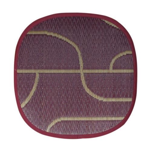 添島勲商店 OTO IGUSA(オトイグサ) NYOKI-NYOKI(ニョキニョキ)  Purple SEAT CUSHION 座布団 L
