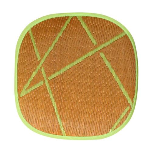 添島勲商店 OTO IGUSA(オトイグサ) ZIG-ZAG(ジグザグ) Orange SEAT CUSHION 座布団 L