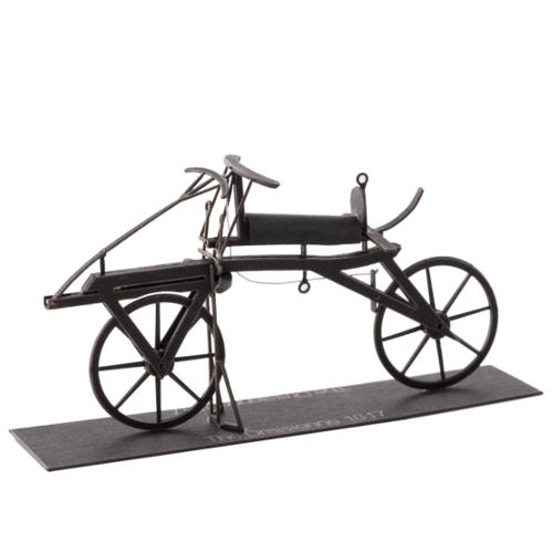 エアロベース 紙の自転車シリーズ K001 ドライジーネ1817年型