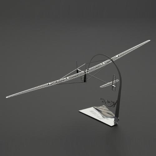エアロベース 人力飛行機モビールシリーズ H005 極楽とんぼ