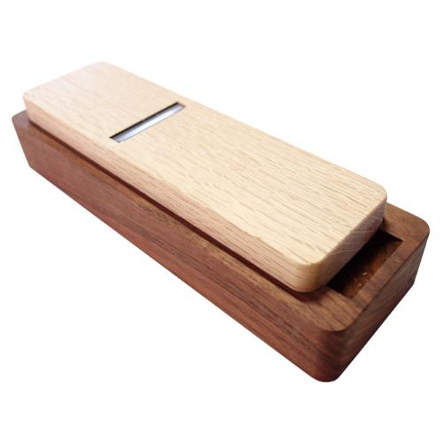 台屋 鰹節削り器 別注ウォルナット×青紙