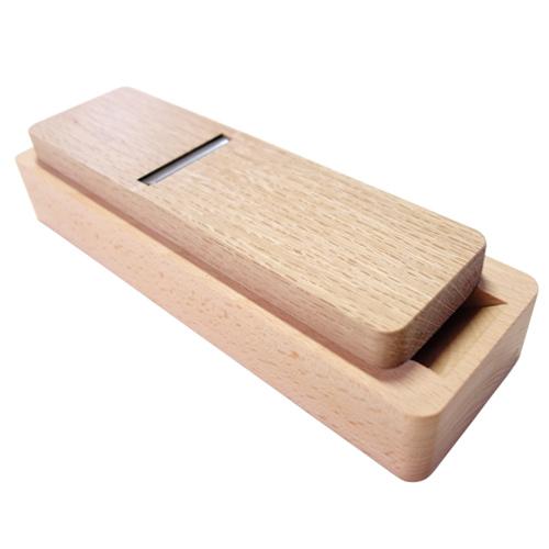 台屋 鰹節削り器 別注ブナ×青紙
