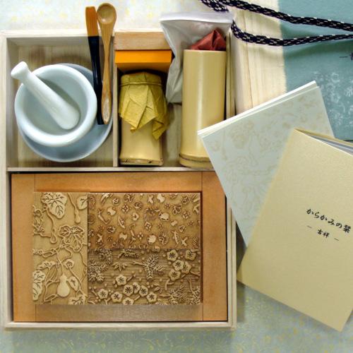 京からかみ Karakami Kit ポストカード版 吉祥