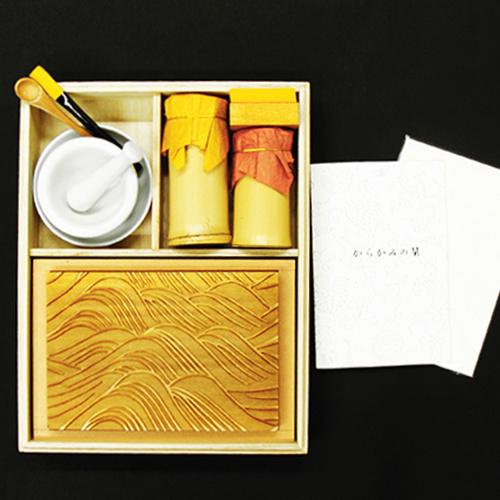 京からかみ Karakami Kit 合口版 光琳大波