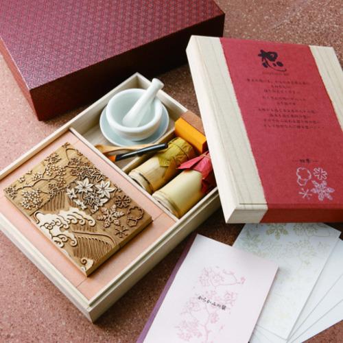 京からかみ Karakami Kit ポストカード版 四季