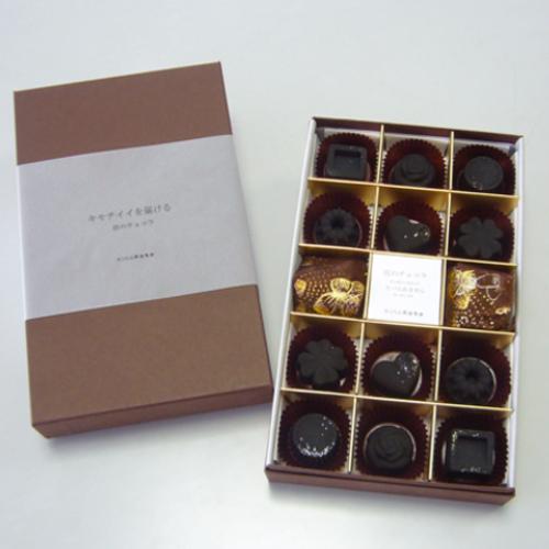 kinokoto 炭のチョコラ(脱臭・除湿材) 12個入り