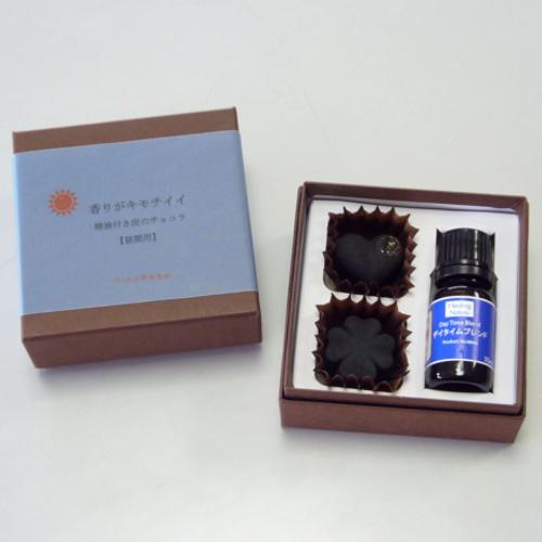 kinokoto 精油付き 炭のチョコラ(脱臭・除湿材)2個入り 昼用
