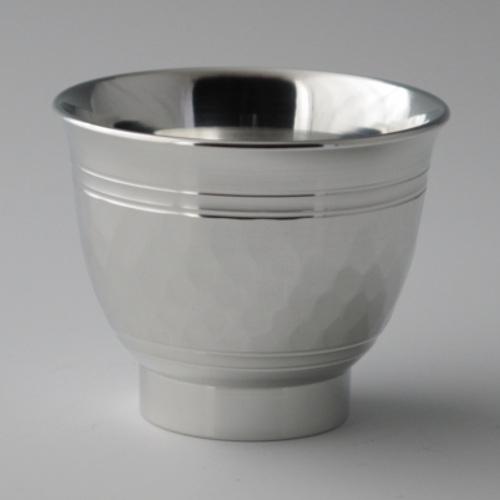 錫器 碗形ぐい呑(ツチメ)