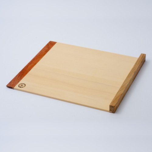 そば打ち道具 駒板 斜め枕 Sサイズ
