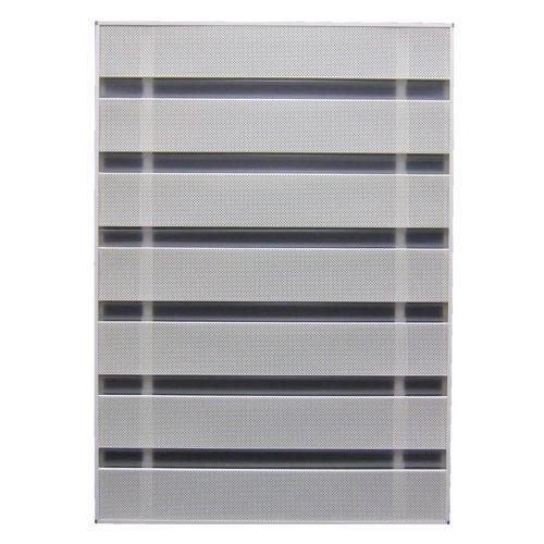 MORISON 窓の目隠しルーバー サンシャインウォール 規格品 W-03 幅88×高125.8cm