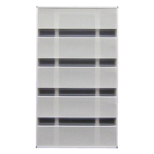 MORISON 窓の目隠しルーバー サンシャインウォール 規格品 W-04 幅50.5×高88.8cm