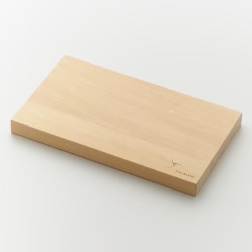 越前箪笥 ひばのまな板 小(TSUBOMIロゴ入)